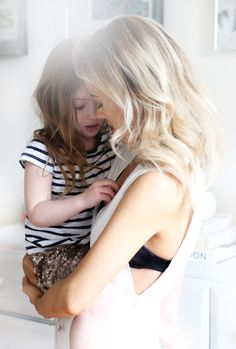 The mama of two shares her motherhood journey—from the five year age difference between her daughters to the childbirth advice she wish she'd been told. Future Maman, Future Baby, Mommy And Me, Mom And Dad, Kings & Queens, Mom Daughter, Family Goals, Family Theme, Mothers Love