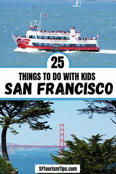 Visiting San Francisco with kids? Uncover 25 of the best things to do with your entire family including visits to top museums and attractions. You can also head out on a bay cruise or stop by some of our free things to do. Free Things To Do, Good Things, San Francisco With Kids, Whats Open, Best Hotels, Museums, Attraction, Stuff To Do, Cruise