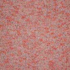 Heather Coral Black Hacci Knit Fabric - A designer overstock Hacci open weave knit in a black and coral orange heather solid.  Fabric is light to medium weight with a fluid drape and great stretch and recovery.  Fabric has a 4 way stretch.  Great for tops, dresses, swim cover ups, light weight cardigans, kimono's, and more!  ::  $6.50