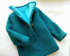 """Купить Пальто для девочки """"Like mom"""" - вязаное пальто, пальто для девочки, пальто дизайнерское"""