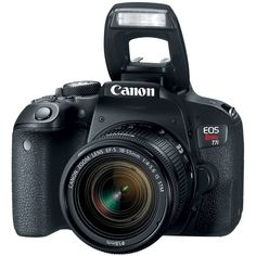 Shop Canon EOS Rebel DSLR Video Camera with EF-S IS STM Lens Black at Best Buy. Find low everyday prices and buy online for delivery or in-store pick-up. Canon Camera Models, Cameras Nikon, Camera Lens, Video Camera, Canon Dslr Camera, Camera Tricks, Leica Camera, Canon Lens, Camera Case