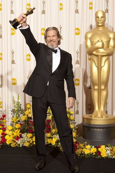 """82nd Academy Awards® (2010) ~ Jeff Bridges won the Best Actor Oscar® for his performance in """"Crazy Heart"""" (2009)"""