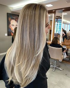 71 most popular ideas for blonde ombre hair color - Hairstyles Trends Blonde Ombre Hair, Blonde Balayage Highlights, Blonde Hair Looks, Ombre Hair Color, Hair Color Balayage, Natural Blonde Highlights, Babylights Blonde, Different Blond, Blond Beige