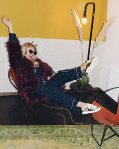 Jelena Karakas, PJ. Fake fur, New Year Eve