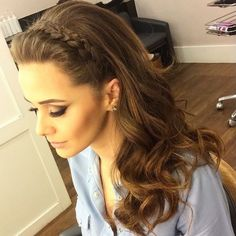 Riding the braid wave? With these step-by-step instructions, you'll nail down 15 gorgeous braid styles in no time frisuren haare hair hair long hair short Pretty Hairstyles, Braided Hairstyles, Wedding Hairstyles, Hairstyles 2018, Cute Medium Hairstyles, Graduation Hairstyles, Dance Hairstyles, Bohemian Hairstyles, Layered Hairstyles