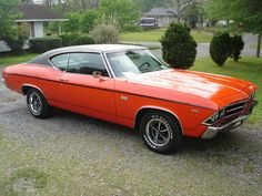 "1969 Chevrolet, Chevelle SS, ""Monaco Orange"""