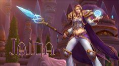 Heroes of the Storm: Jaina Trailer  http://www.videogamingvault.com/   #heroesofthestorm #videogame #trailer