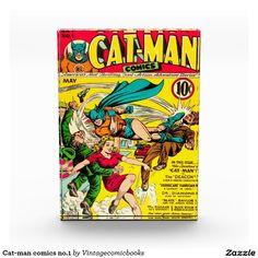 #vintagecomicbooks #catman #geek #comics # #bigbangtheory Cat-man comics no.1 award