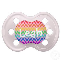 Shop Colorful ZigZag Pattern Girly Name Pacifier created by stdjura. Cute Baby Gifts, Great Gifts, Baby Binky, Zig Zag Pattern, Cute Babies, Girly, Names, Rainbow, Colorful