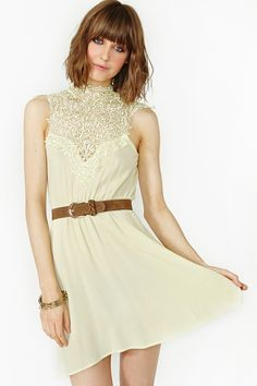 Tied Crochet Sundress in Clothes Dresses at Nasty Gal