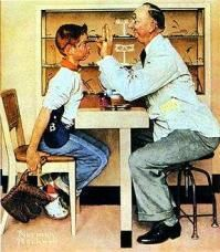 Medical School Journal: Norman Rockwell Paintings of Doctors