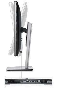 Dell 27 Ultra HD 4K Monitor - P2715Q - Full adjustability