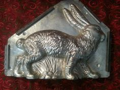 Rare Antique Chocolate Mold Easter Bunny on All Fours Chocolate Butter, Chocolate Ice Cream, Chocolate Molds, How To Make Chocolate, Butter Molds, Candy Molds, Rare Antique, Easter Bunny, Primitive
