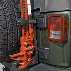 Off Road Jack Mounting Bracket. This Jeep Wrangler JK Off-Road Jack Mount allows you to carry your Off-Road jack on the outside of your vehicle saving precious cargo space. Jeep Wrangler Parts, Jeep Parts, Jeep Wrangler Unlimited, Jeep Wrangler Accessories, Jeep Accessories, Hummer H3, Hi Lift Jack Mount, Patrol Y61, Jeep Gear