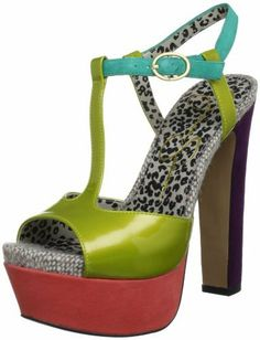 Jessica Simpson Women's Kadi T Straps Heels