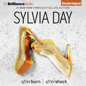 I finished listening to Afterburn & Aftershock: Cosmo Red-Hot Reads from Harlequin (Unabridged) by Sylvia Day, narrated by Amy McFadden on my Audible app.  Try Audible and get it free.