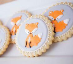 Foxy Baby Baby Shower {Woodland + Pink + Orange}