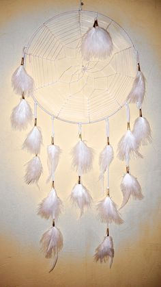 Dream Catcher Large White. $85.00, via Etsy.