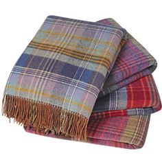 Our reversible lambswool check throw is available in tartan and tweed, giving you 2 stunning colour combinations in one! Perfect for your sofa or bed. Tartan Throws, Tartan Plaid, Plaid Scarf, Tartan Decor, Scottish Decor, Scottish Cottages, Plaid Bedding, Tartan Fabric, Weaving