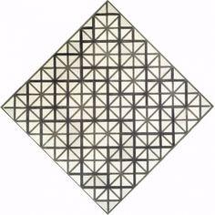 Deze afbeelding bestaat uit geometrische lijnen.