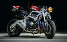 I absolutely appreciate the things these folks did to this custom made Custom Street Bikes, Custom Motorcycles, Custom Bikes, Cafe Racer Moto, Cafe Racing, Street Fighter Motorcycle, Suzuki Motorcycle, Gsxr 1100, Xjr