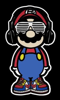 mario remix by Funny Failiers Tattoo Geek, Character Art, Character Design, Sketch Manga, Mario And Luigi, Super Mario Bros, Graffiti Art, Doodle Art, Game Art