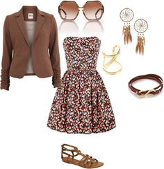 """""""Blossoming Summer?"""" by aahhhsnap on Polyvore"""