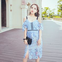 Find More Information about self portrait spaghetti strap lace dress 2016 women off the shoulder high waist light blue floral lace boho dress aliexpress uk,High Quality dress web,China dress h Suppliers, Cheap dress silver from ChinaGifts on Aliexpress.com