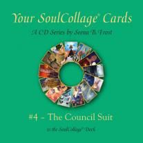 Cards in the Council Suit represent different archetypal energies, energies that are universal patterns or themes on planet Earth. Some of these Larger Story archetypes enter and act, from birth on, in one's personal and local story. They are guides and challengers, as in the other suits, but on a larger scale. http://hanfordmead.com/product/council-suit-cd?utm_campaign=coschedule&utm_source=pinterest&utm_medium=SoulCollage%C2%AE
