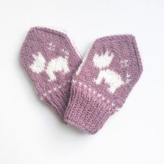 Ravelry: Terriervotten pattern by Tonje Haugli Knitting For Kids, Baby Knitting Patterns, Sewing For Kids, Baby Sewing, Baby Patterns, Free Knitting, Knitting Projects, Baby Coat, Knit Mittens