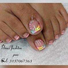 Magic Nails, French Tip Nails, Love Nails, Erika, Veronica, Hair Beauty, Lily, Toenails Painted, Pretty Toe Nails