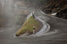 Road to Stelvio pass - Italy