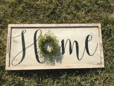 Hey, I found this really awesome Etsy listing at https://www.etsy.com/listing/268659537/rustic-home-sign-wood-sign-wood-signs