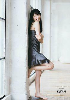 """Kazumi Takayama """"Swan"""" on Young Gangan Magazine - JIPX(Japan Idol Paradise X) Japanese Beauty, Japanese Girl, Asian Beauty, Asian Woman, Asian Girl, Very Good Girls, Jugend Mode Outfits, Takayama, Japan Fashion"""