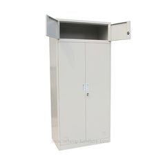 metal cabinet with doors - Luoyang Hefeng Furniture Cabinet Doors, Tall Cabinet Storage, Locker Storage, Air Ventilation, Luoyang, School, Metal, Furniture, Home Decor