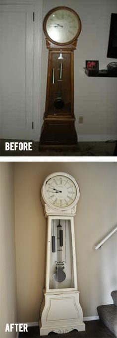 Still have the charm of the grandfather clock but brought it into the current century.