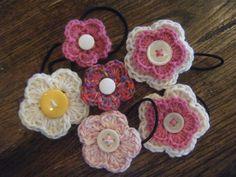 Crocheted Hair Bands