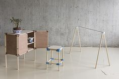 Digital fabrication furnitures by Standard Products