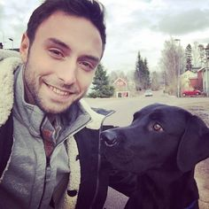 Pin for Later: The Hottest Pictures of Måns Zelmerlöw, Winner of the 2015 Eurovision Song Contest Whose Eyes Are Cuter? Don't make us choose!