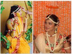 #haldi #bollywoodstyle #flowrjewellery