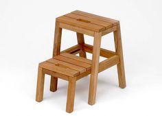 Dania Step ladder, Oak