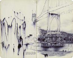 Pat Perry. Sketchbook.