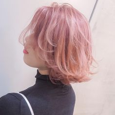 hair colour of my dreams Pastel Hair, Pink Hair, Pastel Pink, Hair Inspo, Hair Inspiration, Coloured Hair, Dye My Hair, Aesthetic Hair, Hair Day