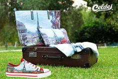 Next stop: Paris, France 🇫🇷  Find your Celdes outfit here!  Sneakers: http://celdes.com/…/…/147-paris-vue-of-the-eiffel-tower.html Bag: http://celdes.com/en/bags/1215-paris-eiffel-tower-view.html #exploreceldes #exploretheworld #celdes #paris