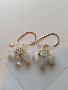 Gold Moonstone Flower Earrings Lilyb444 Etsy jewelry by Lilyb444, https://www.etsy.com/treasury/OTEzMDg1M3wyNzIyMTgzNjQx/team-dream-sweetsixteen-treasury-6