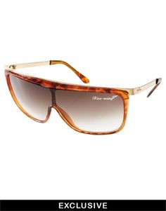 Jeepers Peepers Sport Exclusive to ASOS Tortoise Visor Sunglasses. Le  Fevrier · L s Accessories dc27966f4c3