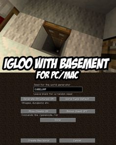 Igloo with Basement Seed for PC/Mac:CUBELUMP