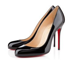 LOUBOUTIN - AUG 2014 - FIFI PATENT 100 mm, Patent leather, BLACK, Women Shoes - EUR 465.00  http://eu.christianlouboutin.com/de_en/shop/women/fifi-patent.html