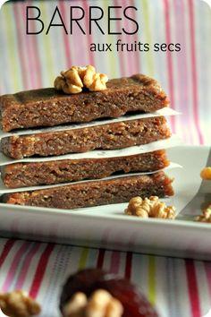 Healthy Protein Breakfast, Healthy Snacks, Fruits Secs Bio, Raw Energy Bars, Cas, Raw Food Recipes, Snack Recipes, Yummy Veggie, Light Recipes