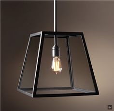 Restoration Hardware Look-Alikes: Save 176.00 @ Pottery Barn vs Restoration Hardware Filament Pendant